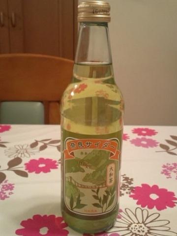シマヤ 奈良サイダー・大和茶 #1