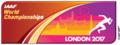 世界陸上2017・ロゴ