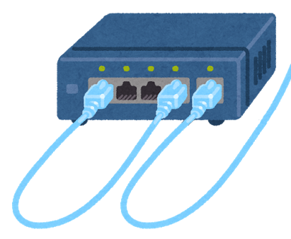 ループ接続 (いらすとや)