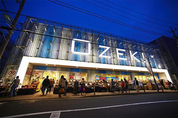 東急大井町線沿線、尾山台店の外観