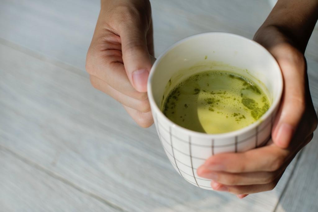 green tea stress