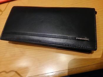 クロス財布