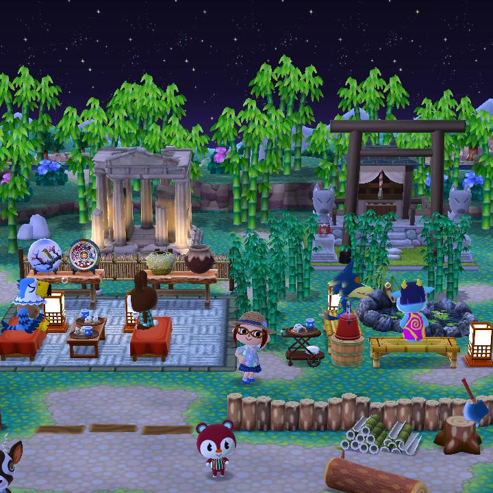 あつ 森 キャンプ 場