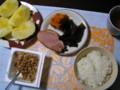 我が家の朝食