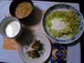 我が家の昼食