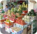 [ベトナム]ベトナムで・・・いろいろなフルーツが売られてました