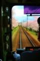 京都新聞写真コンテスト お花見電車でGO!