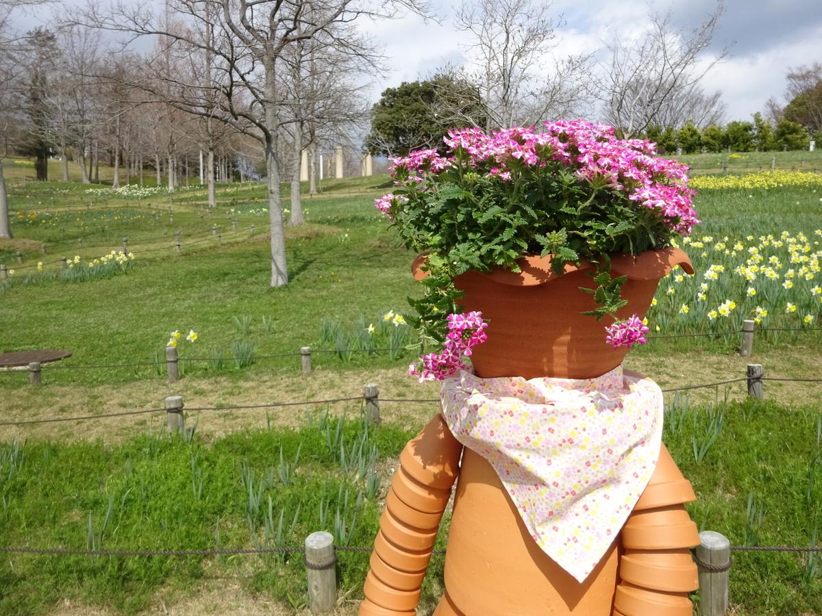 国営明石海峡公園 花 人形 ジブリ風