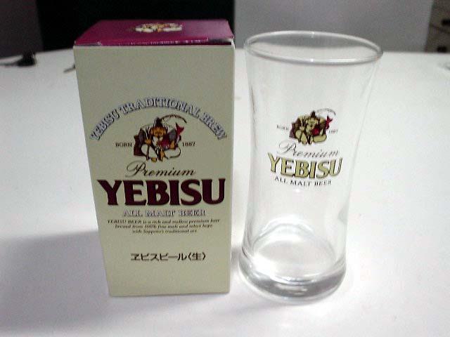 YEBISUペアグラス