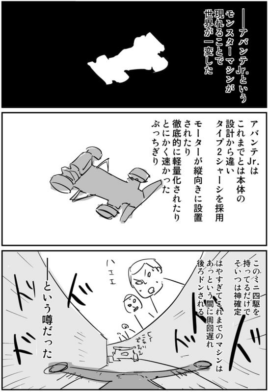 ミニ四駆とアバンテJr0004