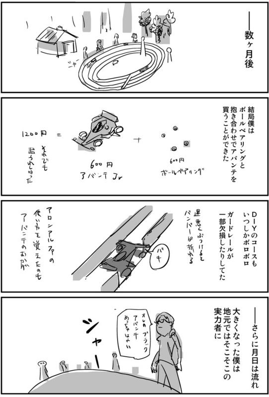 ミニ四駆とアバンテJr0009