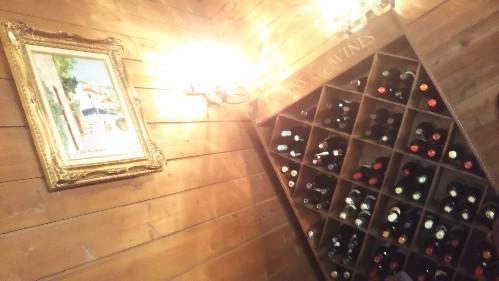 ウッドハウスのワインセラー