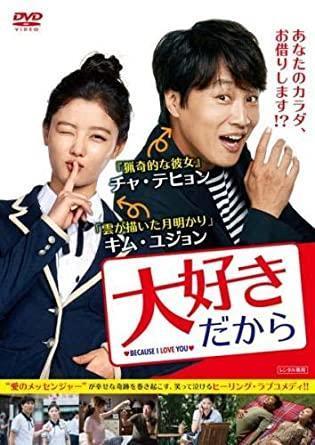 韓国映画、大好きだからのタイトルポスター