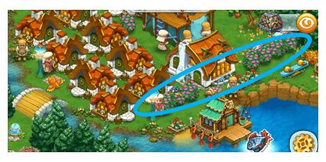 ハーベストのゲーム画面