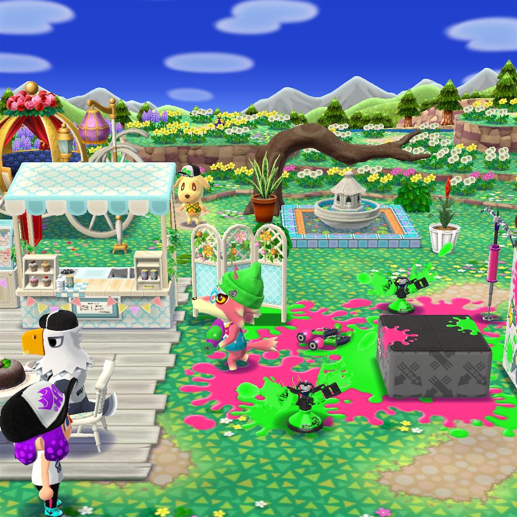 どうぶつの森 ポケットキャンプ (スプライベント)+ポケモンgo - こがね