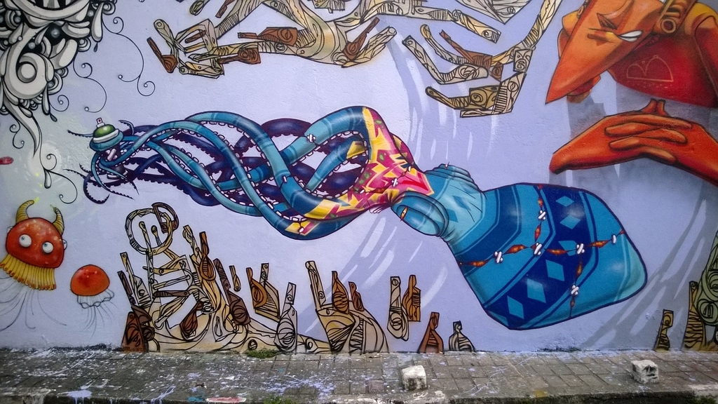ブラジル ストリートアート