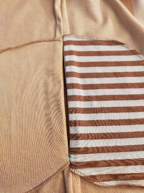ポケットのハンドメイドの失敗した縫い方