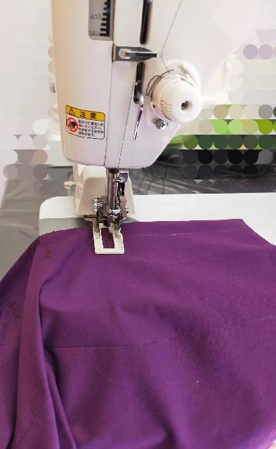 ハンドメイドの洋裁のボタンホールの縫い方
