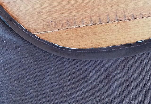 洋裁の表パイピング始末の縫い方