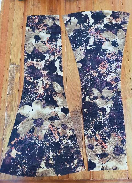 マーメイドラインのスカートの作り方