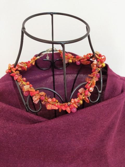 トルコ石の安くてお洒落なネックレス