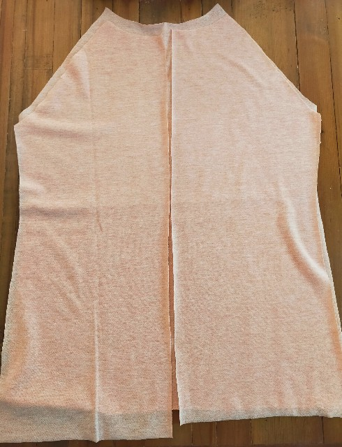 授乳服の縫い方の順序