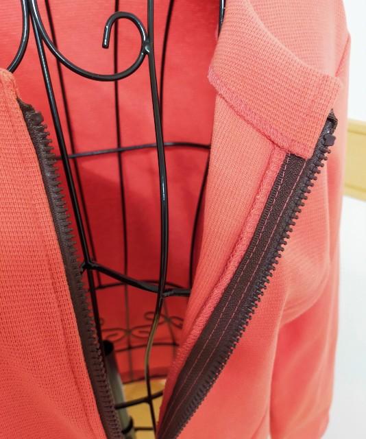 ハンドメイドの洋裁のファスナーの縫い方