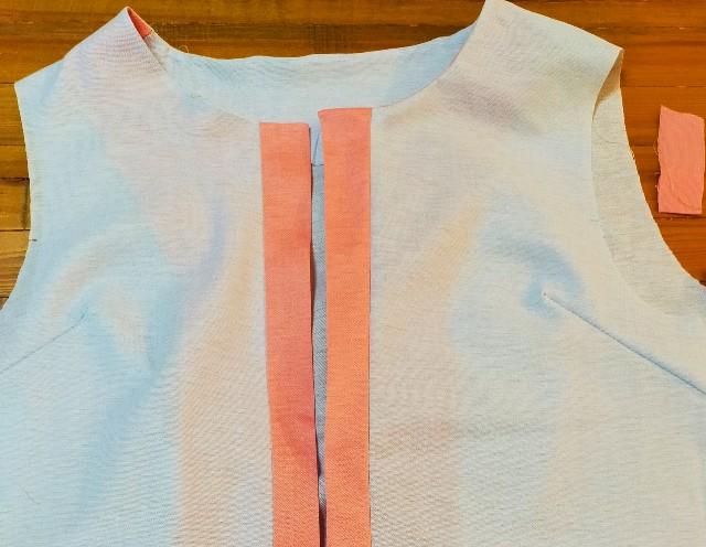 洋裁の見返しの縫い方