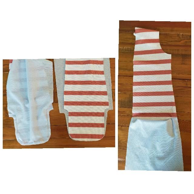 洋裁のニットソーイングのポケットの縫い方