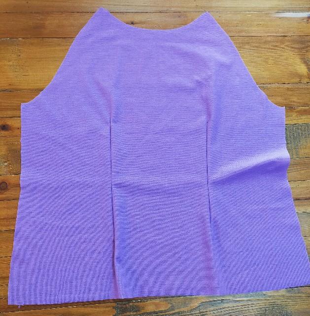 ブティック社の洋裁の型紙の作った服のダーツの縫い方