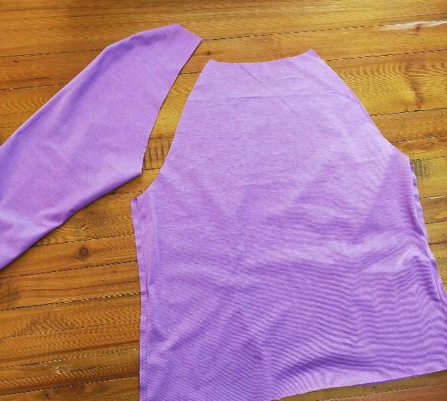 ブティック社のハンドメイドの服の洋裁のブラウス
