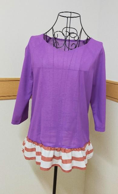 ブティック社のレディースのブラウスの作った服のレポ