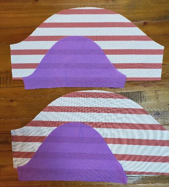 袖の洋裁のハンドメイドのニットソーイングの縫い方