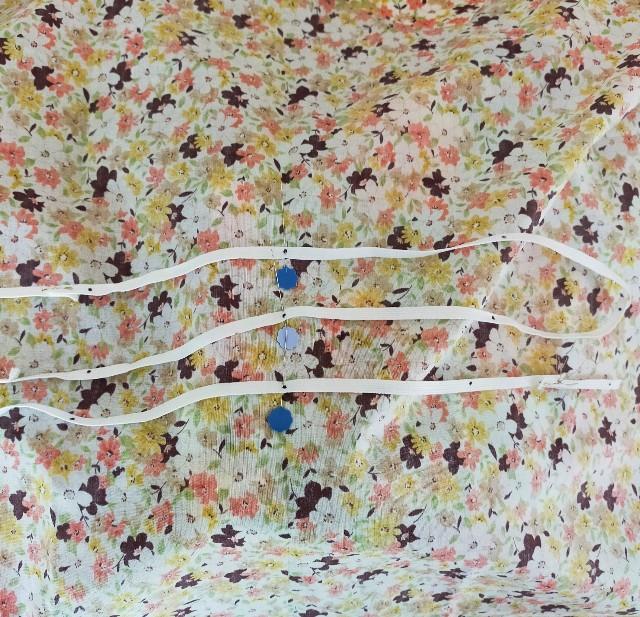 洋裁の教室のゴムシャーリングの縫い方のコツ