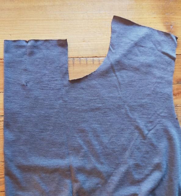 ボータイ風の衿の縫い方