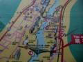 橋巡りの地図