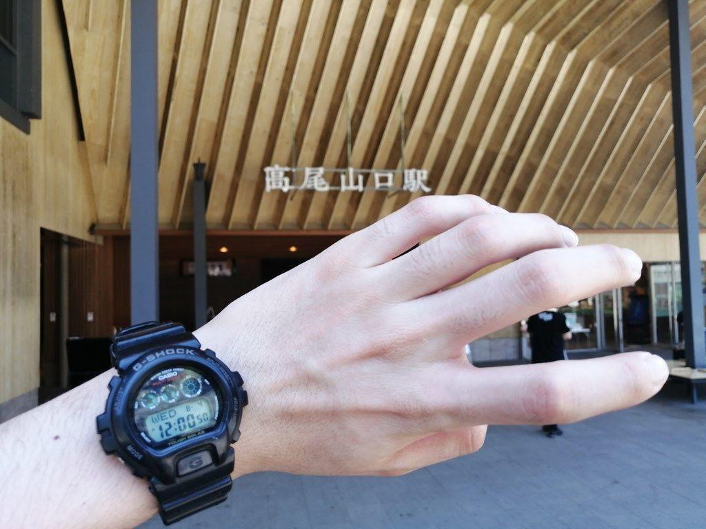 12:00 高尾山口駅