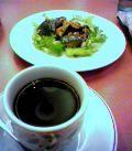 デニーズのサツマイモとカボチャのサラダセット