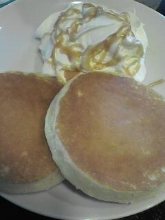 スターバックス 豆乳パンケーキ