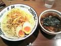 [らぁめん天翔]辛ネギつけ麺 ¥820