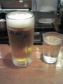 [らぁめん天翔]生ビール ¥380