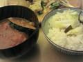 [はーべすと]野菜のカレーと発芽玄米