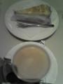 ミルクレープとカフェオーレ@ルノアール池袋東口店
