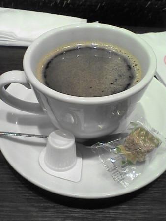 食後のコーヒー@Bar De Ricoエアライズタワー店