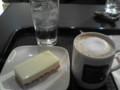 レアチーズケーキとカフェラテS@イルテスート