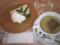 NYチーズケーキ+カモミールティ@千石カフェ