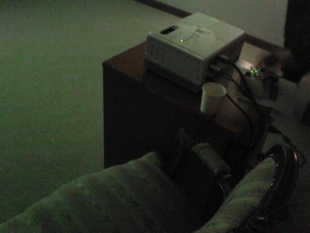 ホームプロジェクター「ドリーミオ」とXbox