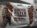 セブンイレブンで購入したコーヒーフィルター(無漂白)