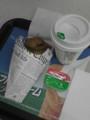 ベルギーマッシュポテトとホットコーヒー@ミニストップ