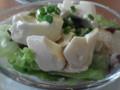 豆腐サラダを追加した@デニーズ